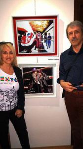 Con Elena Ferrari
