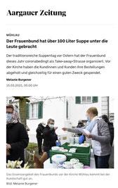 Zum Bericht in der Aargauer Zeitung vom 15. März 2021