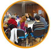 Accompagnement par Par'Lez jardins et Coralie Pagezy-Badin de jardins éco-citoyens avec une démarche participative sur Montpellier