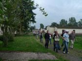 Ehrenamtlich betreute Besuchsgruppe am Tag des offenen Denkmals 2010. Foto: A. Ehresmann, 12.9.2010