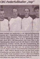 Cronenberger Woche Bericht vom 11.04.2003