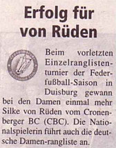 Cronenberger Woche Bericht vom 04.07.2003