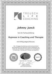 Hypnose Ausbildung Lebensberatung Johnny Junck