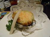 アボカド+ブルーチーズグラタン