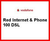 VDSL 100000 von Vodafone mit dem Tarif Red &Internet & Phone 100 DSL für den 100 MBit/s Anschluss