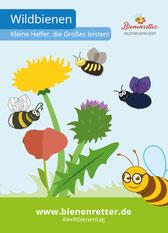 Broschüre Wildbienen von Bienenretter