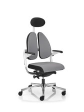 Bürostuhl Bürodrehstuhl Nowystyl rohde&Grahl Xenium DuoBack weiß UPH Polster + Kopf-Nackenstütze