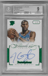 KEVIN DURANT / Inscriptions - No. 9  (#d 2/5)
