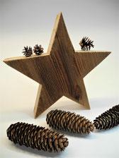 --ESTRELLA III--grosser Stern aus Altholz