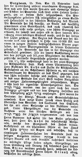 """""""Der Israelit"""" vom 15.06.1910"""