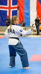 Elise Eeckman, vice championne d'Europe et médaillée de bronze aux chamionnats du monde