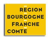 STICKER  logo REGIONAL  Bourgogne Franche Comté