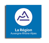 STICKERS Auvergne Rhone alpes REGION AUVERGNE