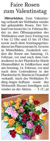 Quelle: Freilassinger Anzeiger, 12.02.2021
