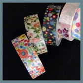Japanische Klebebänder - masking tapes von Kamoi