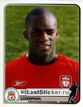 N° 189 - Mohamed SISSOKO (2005-06, Liverpool, GBR > 2011-Jan 12, PSG)