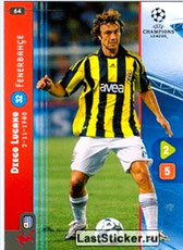 N° 064 - Diego LUGANO (2008-09, Fenerbahçe, TUR > 2011-Jan 12, PSG))