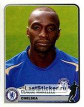 N° 139 - Claude MAKELELE (2005-06, Chelsea, ANG > 2008-11, PSG)
