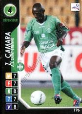 N° 196 - Zoumana CAMARA (2004-05, Saint-Etienne > 2007- ??, PSG)