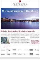 4-seitige Sonderveröffentlichung im Berliner Format für die BAU Messe