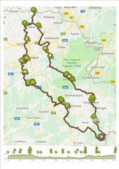 2019-08-05 Schönberg-Teuven-Spa-Schönberg - Motorradroute