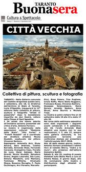 Articolo di Taranto BuonaSera del 2 settembre 2017