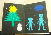 折り紙切り絵本5の画像