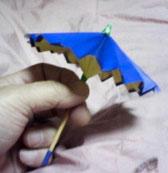 折り紙の傘の画像