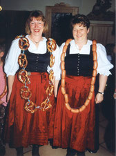 Wurst- und Brezenköniginen