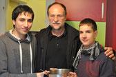 Daniel Kirchner, Peter Visvader und Michael Reitetschläger