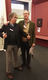 The curators: Bernard Aikema and Andrew John Martin