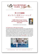 Karate Erlach, Thomas Schulze-Sensei, DJKB Online Karate-Training
