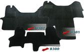 Autoteppich/ Autofussmatte für Iveco Dailyvon Typ 3 - Typ 5