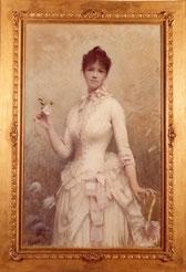 Jules Aviat, Portrait de Mme Berthe Bousquet / Troyes, MBA / via le blog jules-aviat