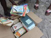 Bücher und Hefte gespendet von TEEG