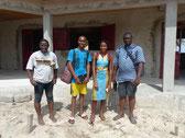 Delegation der TEEG - Tribune des Eleves et Etudiants de Guinée