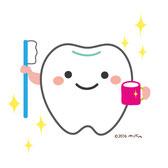 歯みがきのイラスト