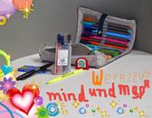 mindundmap-Stifte-Set und mindundmap-Rollmappe