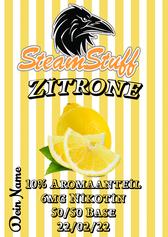 Zitronenliquid selbst zusammenstellen, Zitronenliquid konfigurieren, Zitronenliquid bestellen, preiswertes Zitronenliquid