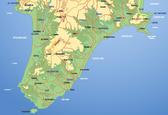 der Süden von Rhodos - το νότιο τμήμα της Ρόδου