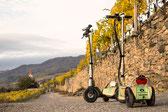 Scooter-Tour in der Ried-Klaus, toller Ausblick auf die Donau und die Weinberge. Ein Erlebnis.
