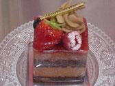ラズベリーとチョコレート