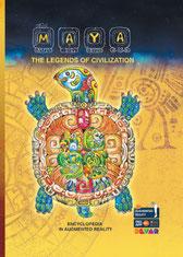大人の塗り絵本「マヤ文明」