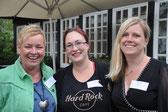 Drei Mitarbeiterinnen RZH Nord