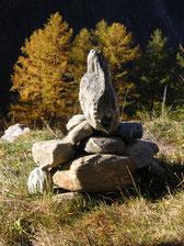Steinmännchen  ·  stone cairn