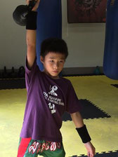U-15ボクシング日本チャンピオン 坂間叶夢選手