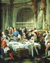 Le déjeuner d'huîtres, de Jean-François de Troy