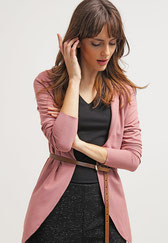 Rich & Royal Blazer - dark rose