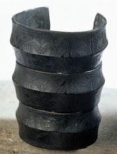 Anneaux de cheville de l'âge de Bronze, musée Raymond à Toulouse