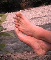 Fußmassage / Fußreflexzonen Massage